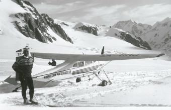 Yuichiro_Miura,_August_1966,_Tasman_Glacier,_Mt._Cook