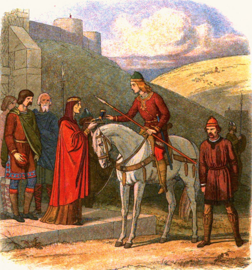 A_Chronicle_of_England_-_Page_072_-_Edward_Murdered_at_Corfe