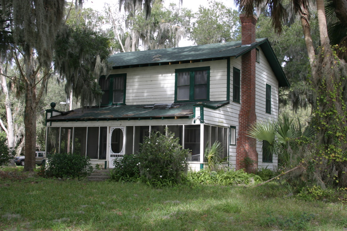 Kate (Ma) and Fred Barker death cottage photo sent to Find A Grave