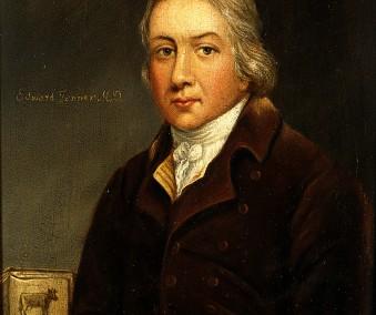 V0023503 Edward Jenner. Oil painting.