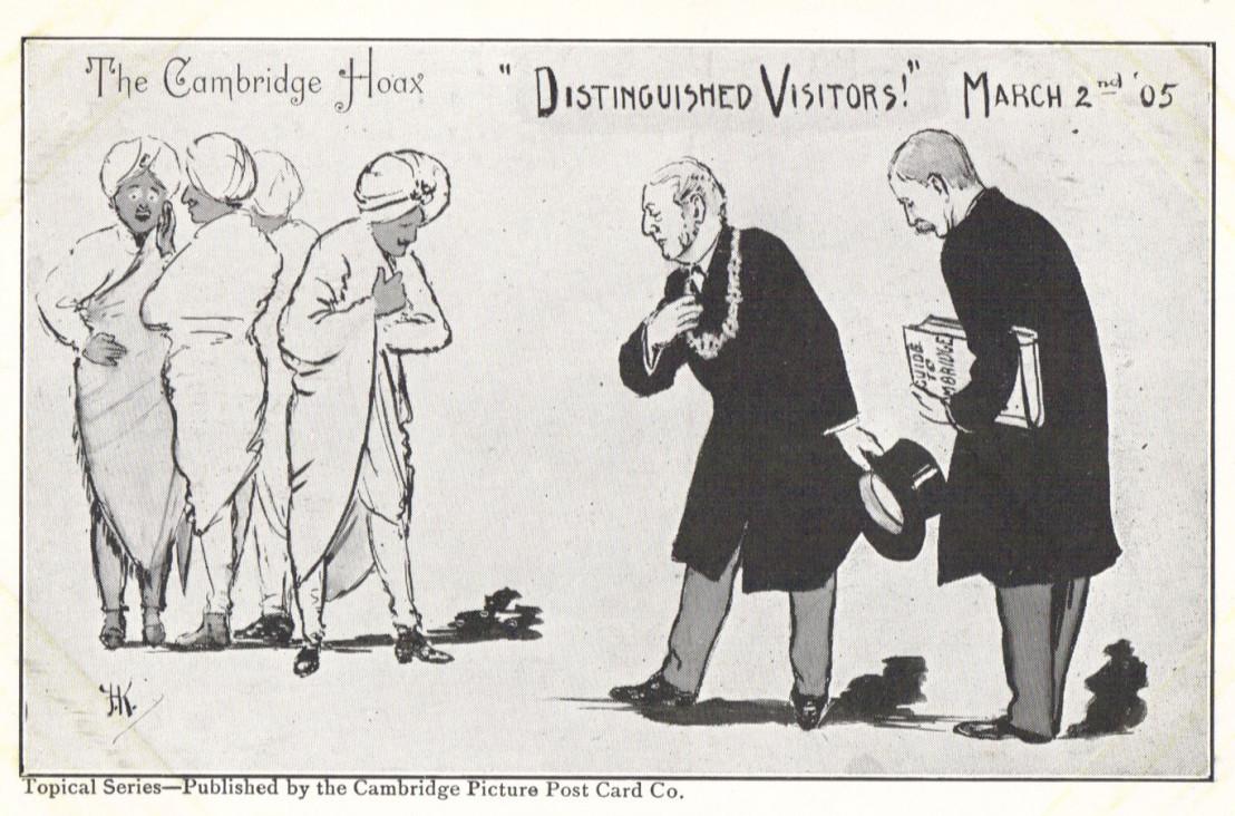 The_Cambridge_Hoax_postcard,_1905_-_1