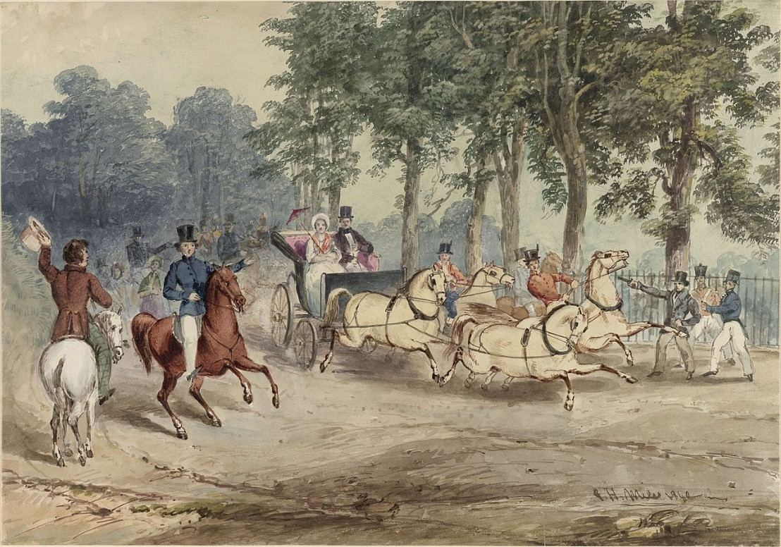 1280px-Edward_Oxford's_assassination_attempt_on_Queen_Victoria,_G.H.Miles,_watercolor,_1840