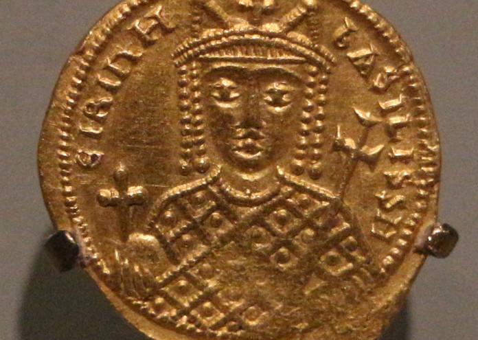 Costantinopoli,_solido_dell'imperatrice_irene,_797-802