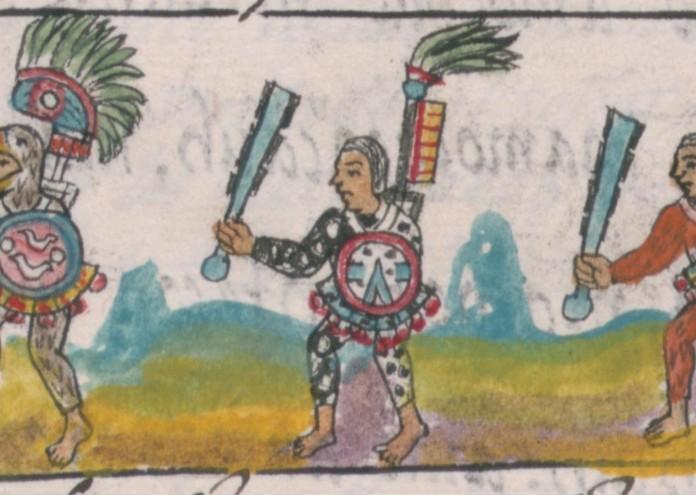 Florentine_Codex_IX_Aztec_Warriors
