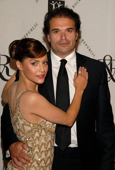 Brittany Murphy and Simon Monjack (Photo by Mark Sullivan/WireImage)