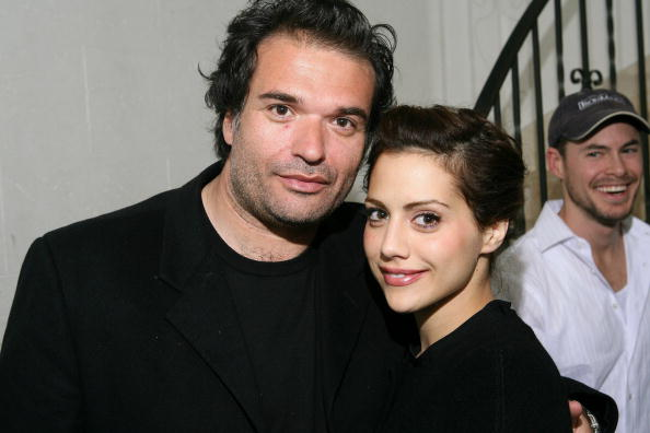 Simon Monjack and Brittany Murphy (Photo by Michael Bezjian/WireImage)