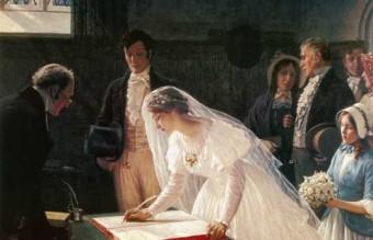 Edmund_Blair_Leighton_-_signing_the_register
