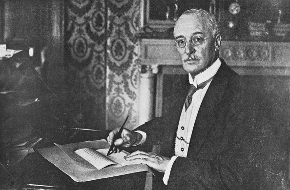 (Original Caption) Diesel: Dr. Rudolf, the inventor of the Diesel Engine.