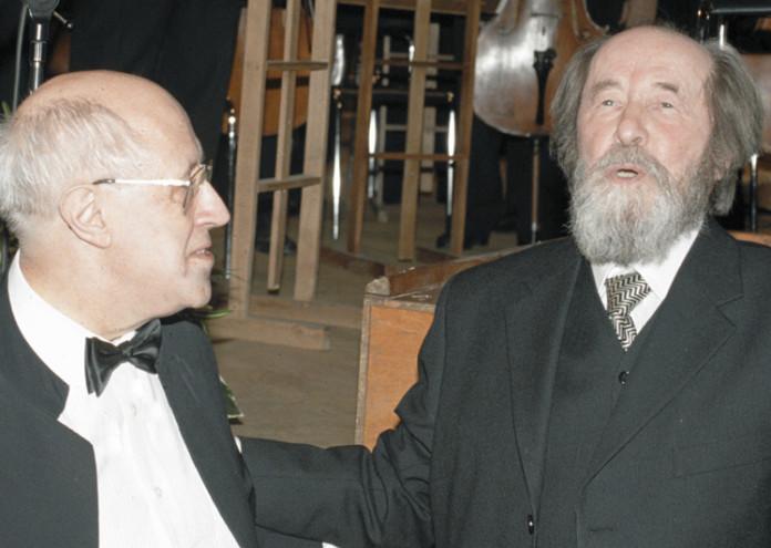 Солженицын и Ростропович