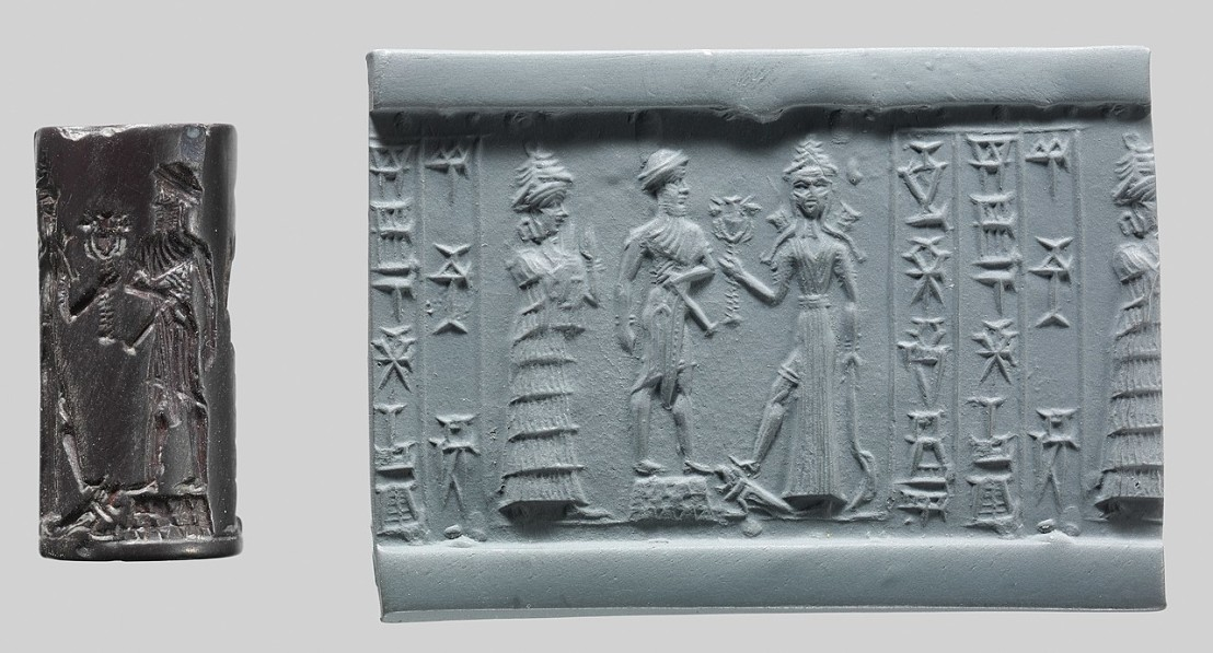 1280px-Cylinder_seal,ca._18th–17th_century_B.C._Babylonian