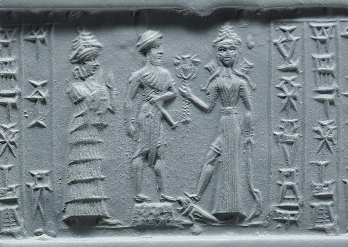 1280px-Cylinder_seal,ca._18th–17th_century_B.C._Babylonian