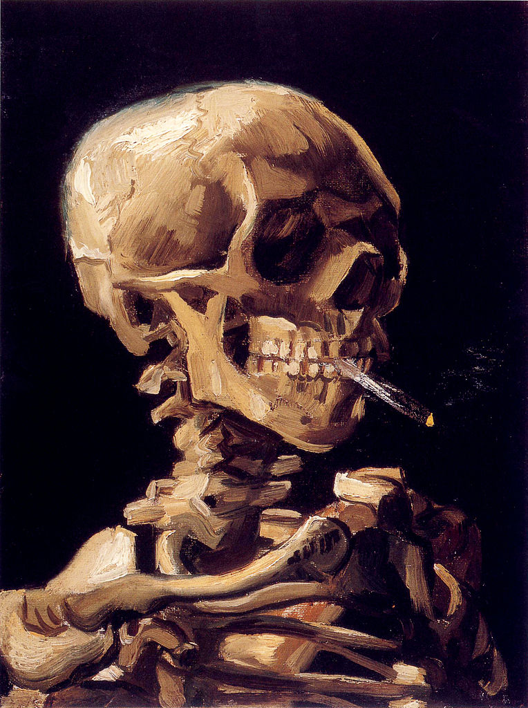 764px-Van_Gogh_-_Skull_with_a_burning_cigarette
