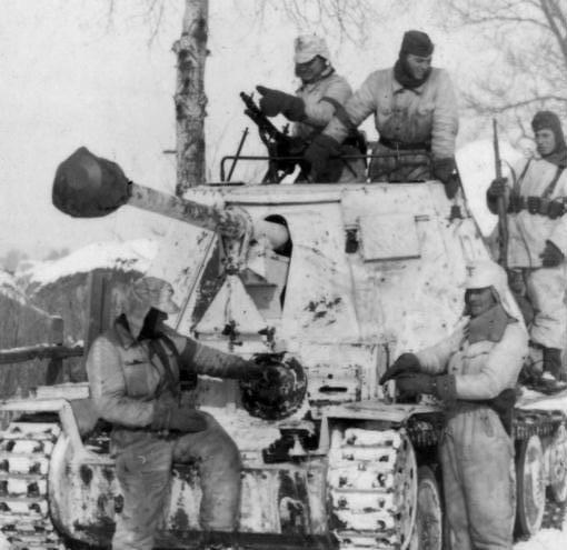 Russland, Raum Charkow, Jagdpanzer
