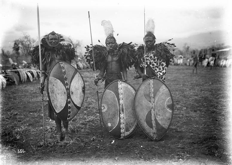 Deutsch-Ostafrika, Massaikrieger