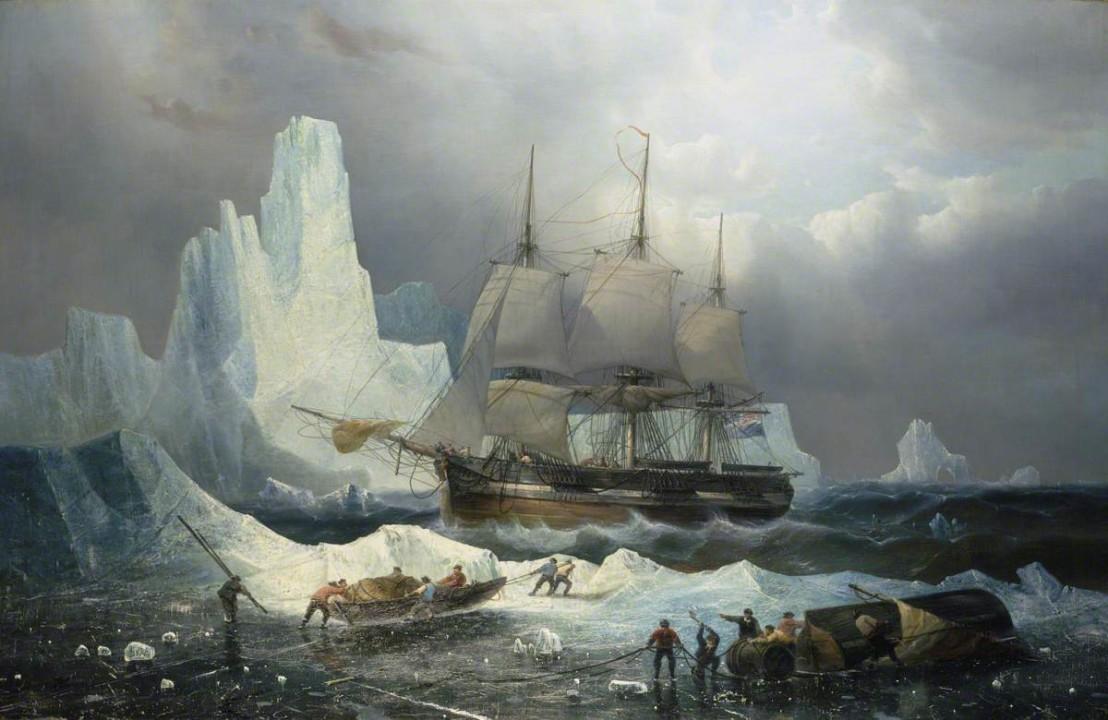 Musin, Francois Etienne, 1820-1888; HMS 'Erebus' in the Ice, 1846