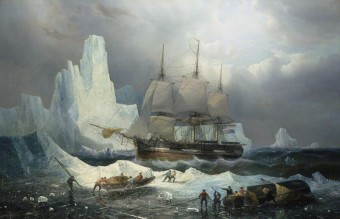 Musin, Francois Etienne, 1820-1888; HMS 'Erebus' in the Ice, 1846