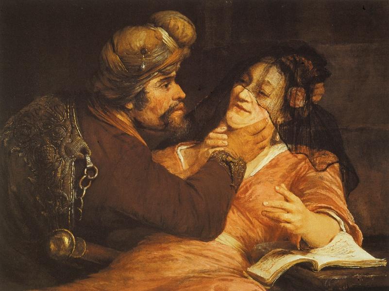 Gelder,_Aert_de_-_Tamar_and_Judah_-_1667