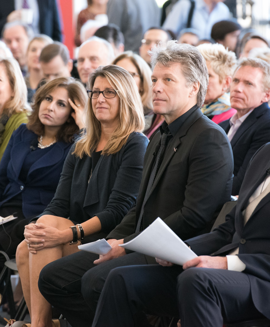 Middle Class Advocacy Group Summit With Jon Bon Jovi