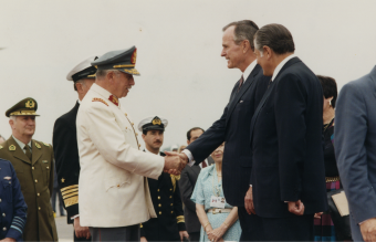 Pinochet_Aylwin_Bush