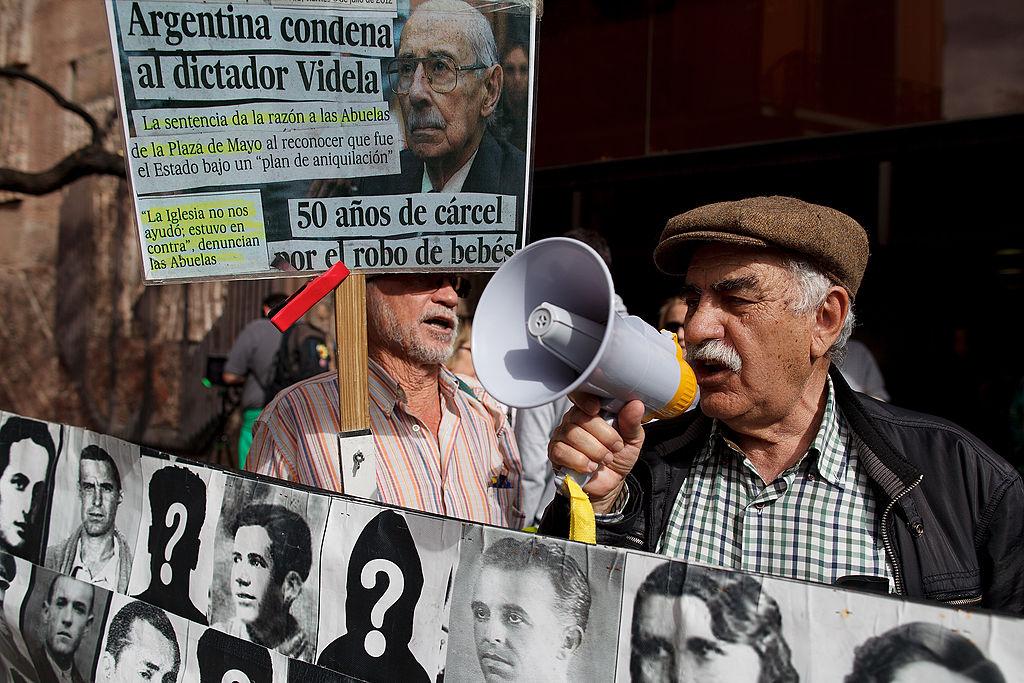 Alleged Torturer Extradition Hearing From General Franco-Era Dictatorship