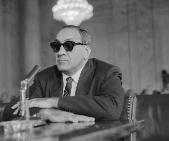 Tony Accardo Testifying Before a Senate Committee