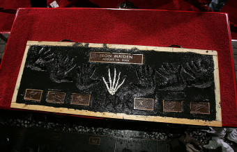Iron Maiden Inducted Into Hollywoods Rock Walk