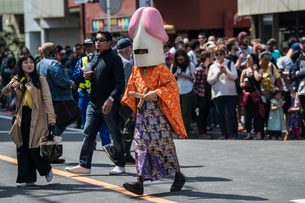 Kawasaki  'Golden Phallus' Festival