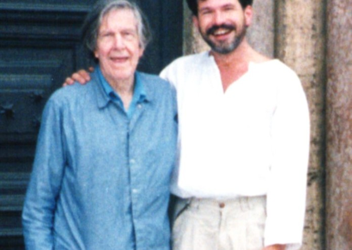 John_Cage_and_Michael_Bach_in_Assissi_1992