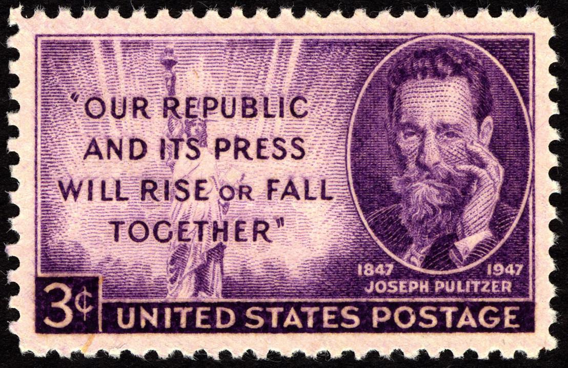 Joseph_Pulitzer_3c_1947_issue_U.S._stamp