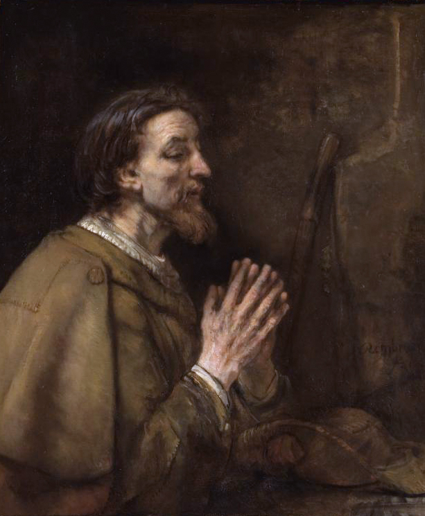 Saint James the Greater, by Rembrandt