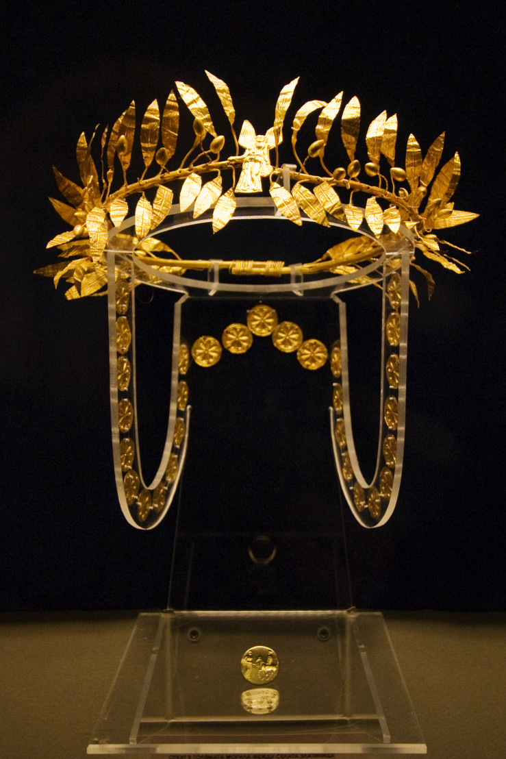 Sofia - Odrysian Wreath from Golyamata Mogila