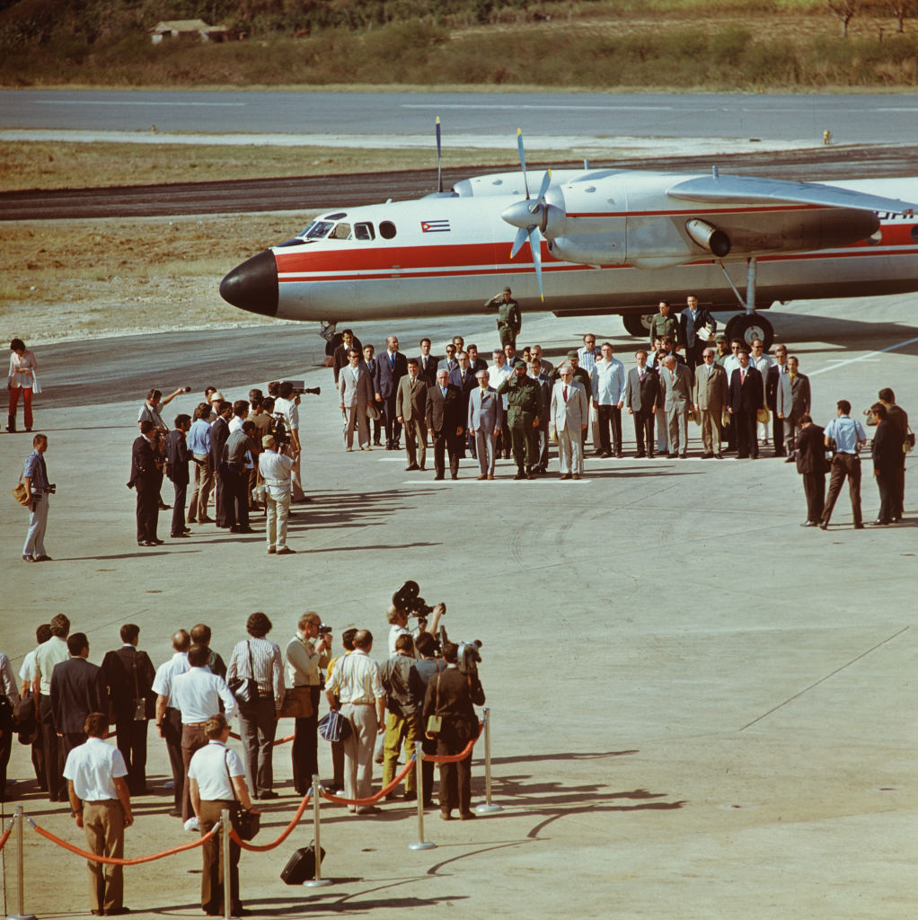 Historical Cuba - State visit Erich Honecker 1974 - Reception