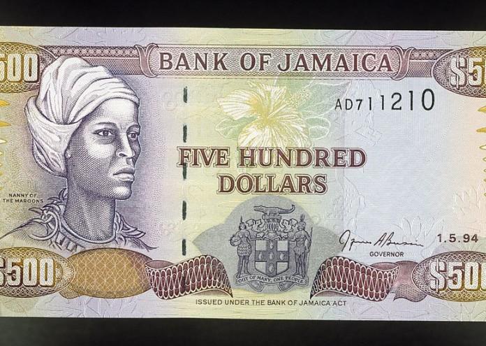 500 dollars banknote