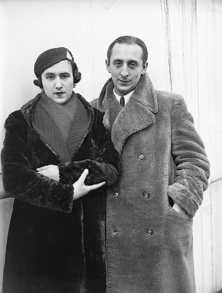 Vladimir Horowitz And His Wife