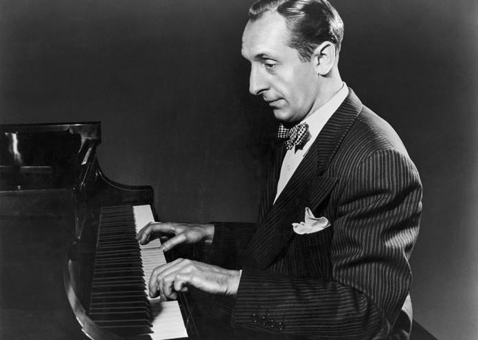 Vladimir Horowitz Seated At The Piano