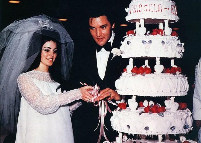 Photo of Priscilla PRESLEY and Elvis PRESLEY