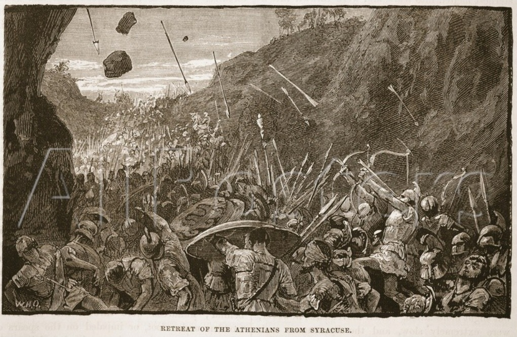 Retreat_of_the_Athenians_from_Syracuse_(Litho)
