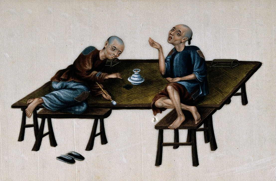 1280px-Two_poor_Chinese_opium_smokers._Gouache_painting_on_rice-pap_Wellcome_V0019165