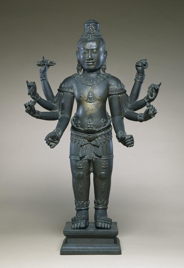 Cambodian_-_Eight-armed_Avalokiteshvara_-_Walters_542726