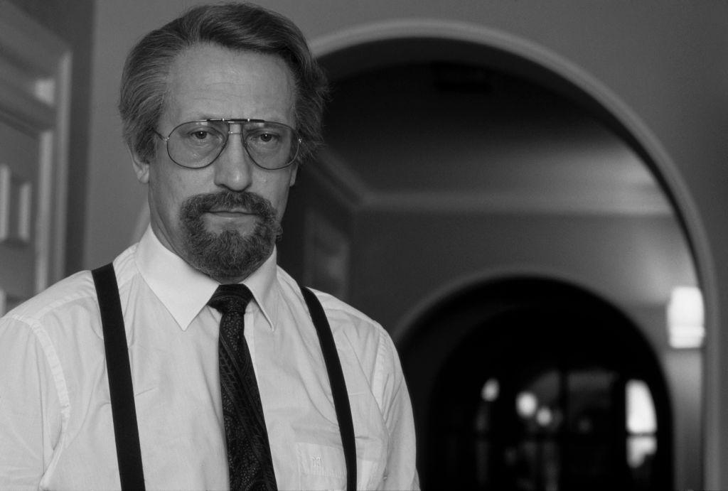 KGB spy Oleg Gordievsky in 1990 in disguise
