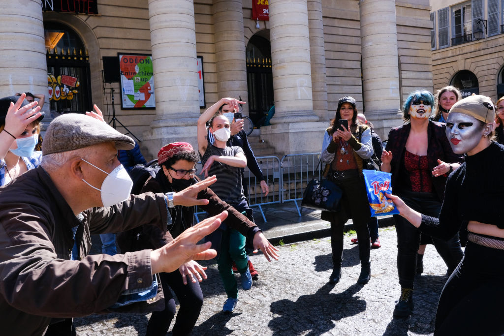Feminist Rally Against Patriarchy In Paris