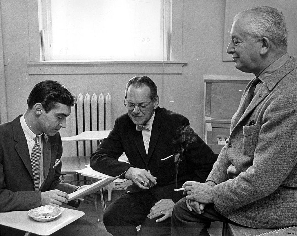 APR 8 1967, APR 9 1967; From left: John Browning, Angelo Eagon, Vladimir Golschmann;