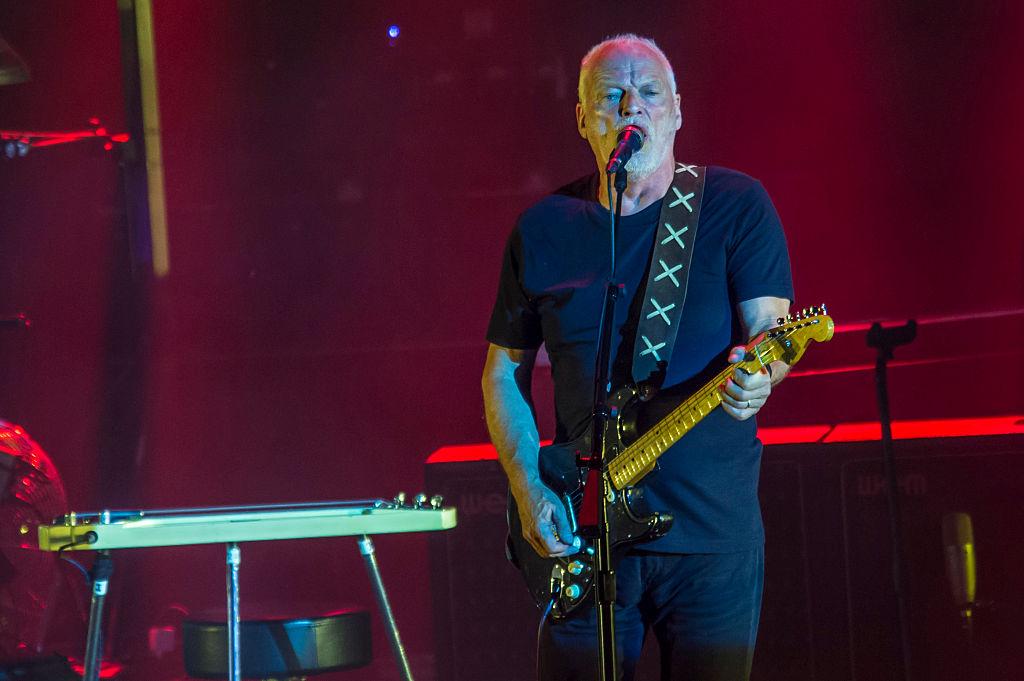 David Gilmour Performs In Pompei