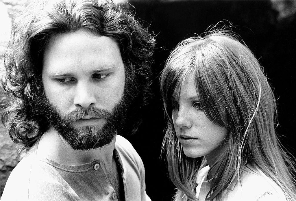 Jim Morrison and Pamela Courson Photo Shoot in Hollywood Hills, 1969