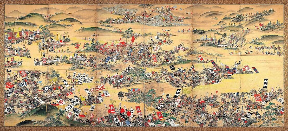 Sekigahara_Kassen_Byōbu-zu_(Gifu_History_Museum)