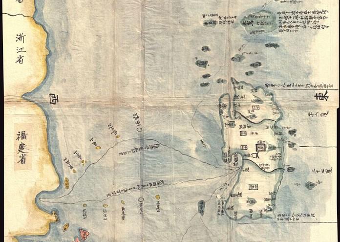 800px-1781_Japanese_Temmei_1_Manuscript_Map_of_Taiwan_and_the_Ryukyu_Dominion_-_Geographicus_-_TaiwanRyukyu-unknown-1781