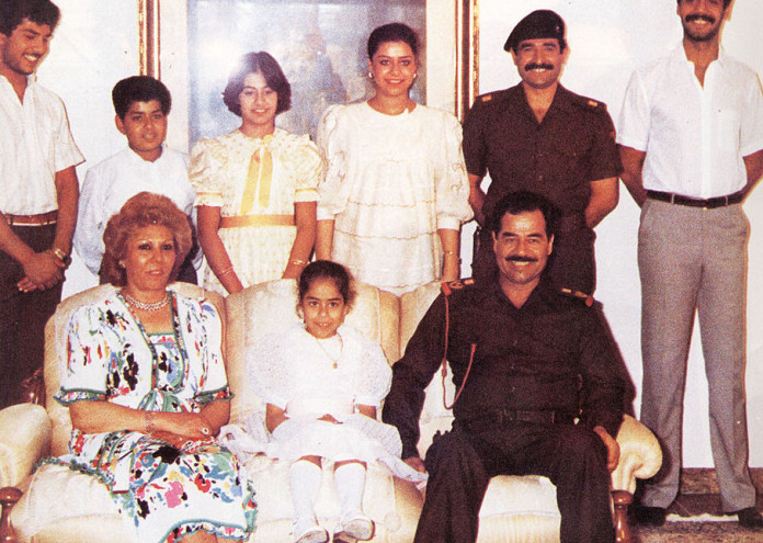 FILE PHOTO Saddam Hussein Family Photos