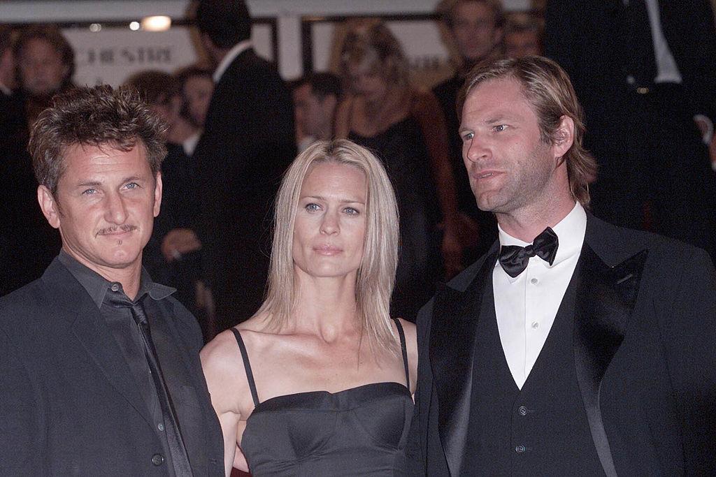 Sean Penn and Aaron Eckhart