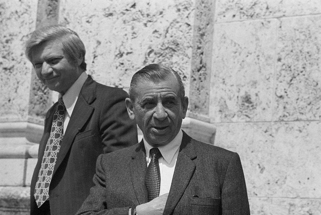 Meyer Lansky And Lawyer