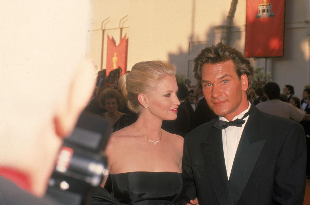 Swayze & Wife Attend Oscars